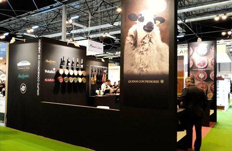 Consorcio de Jabugo Group Stand at Gourmet Madrid