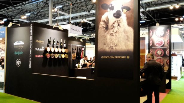 Consorcio de Jabugo Group Stand at Gourmet Madrid