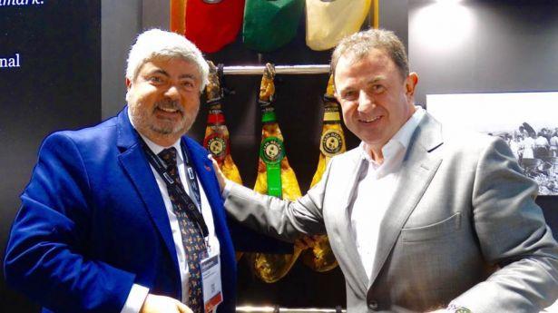 Martin Berasategui y Rafael Ortiz, Director General de Consorcio de Jabugo